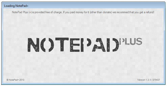 NotePad+ (c) JordanTBH Technologies