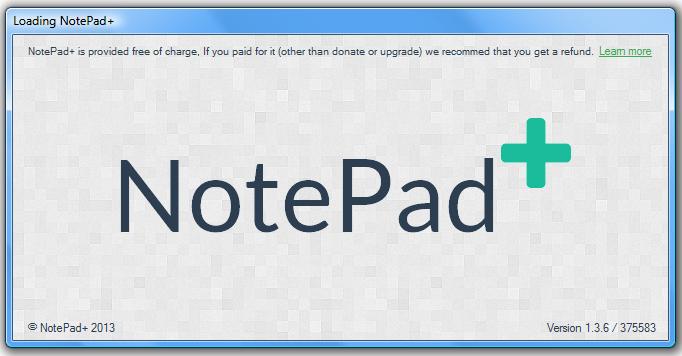 NotePad+ v1.3.6
